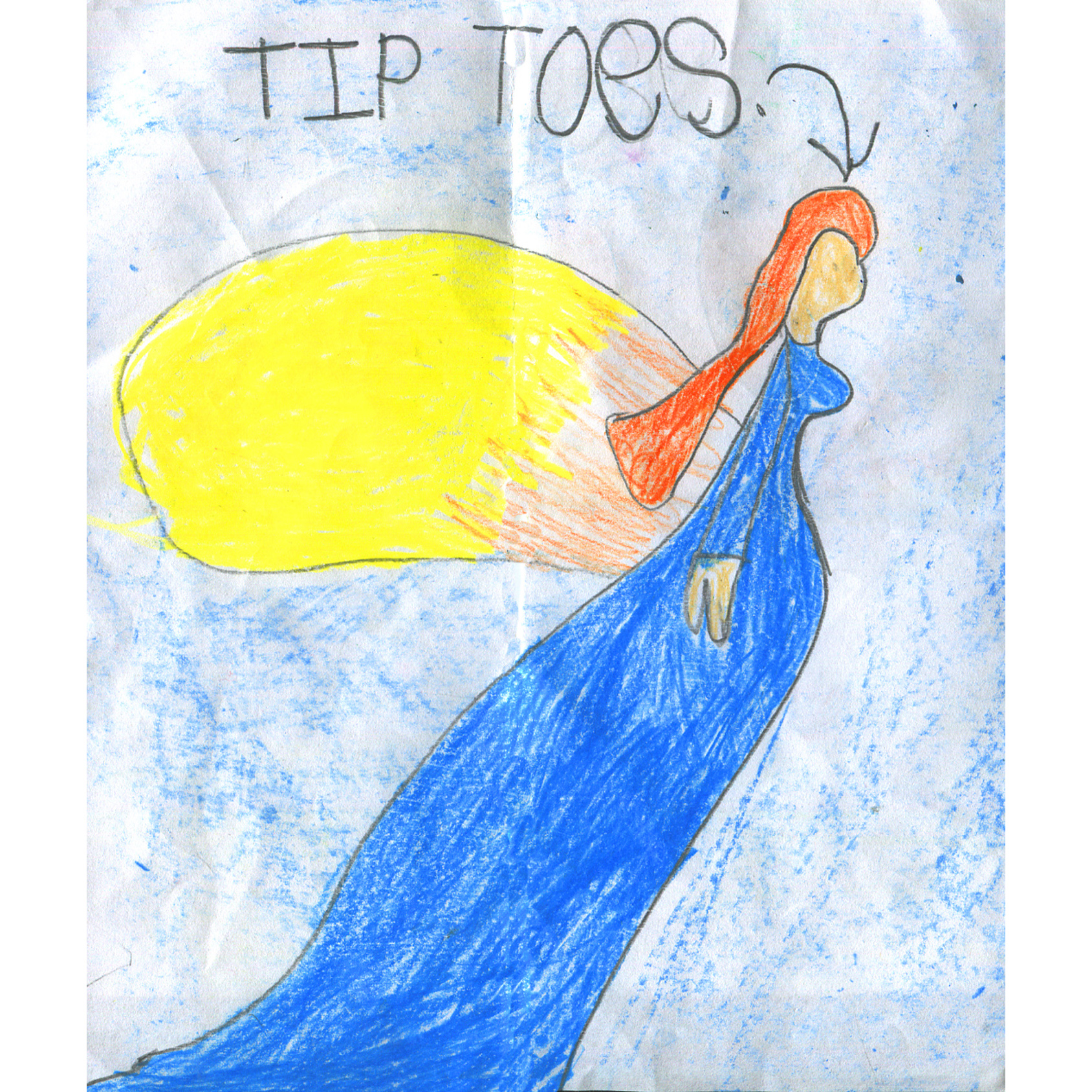 Tiptoes Lightly by Ruth