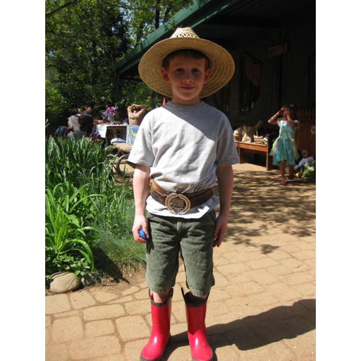 Thatcher as Farmer John