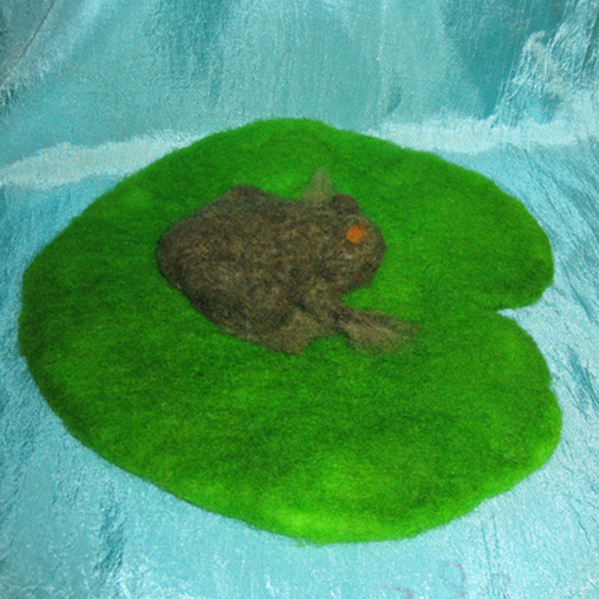 Mr Frog on his lilypad