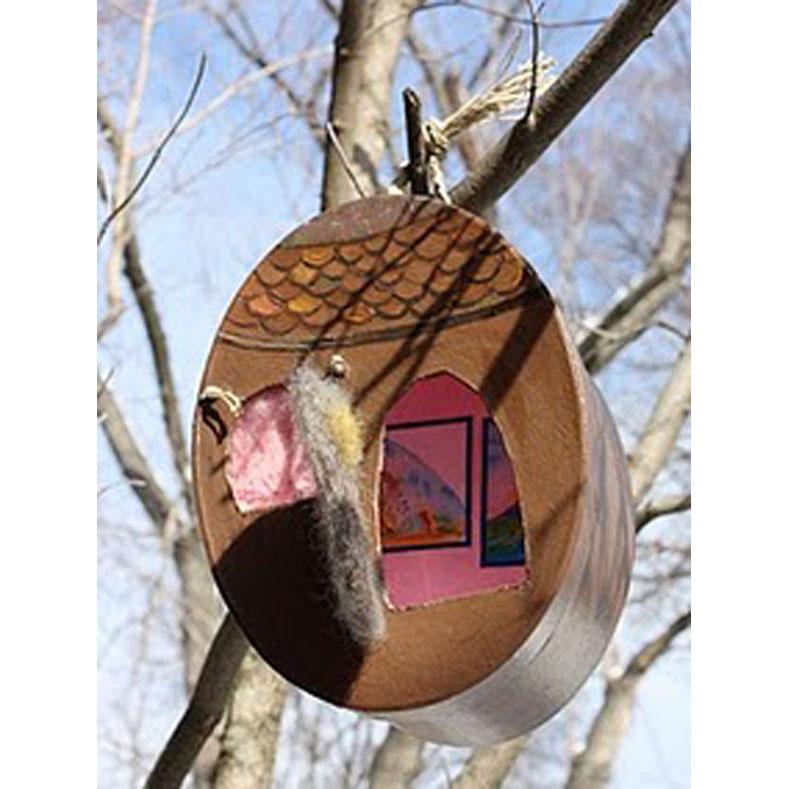 Tiptoes' acorn house.