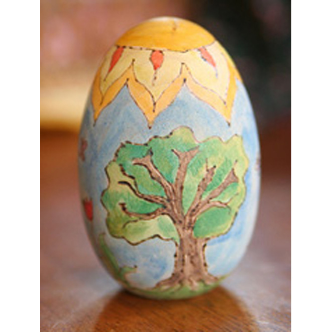 Tiptoes Lightly's great oak tree.