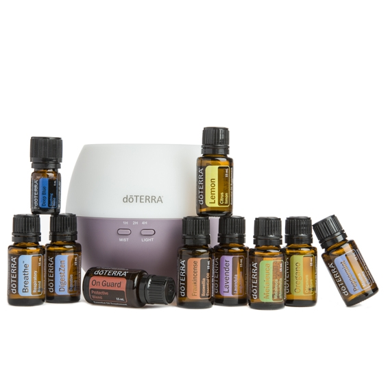 The Home Essentials Kit is the most bought kit with doTERRA because you get your top 10 most commonly essential oils in big bottles (15ml) and a diffuser for only £225.
