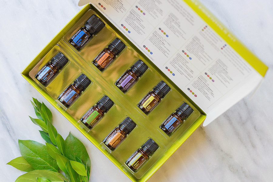 The Family Essentials Kit at £110 is a great way to start as you get all your top 10 Essential Oils (5ml)!