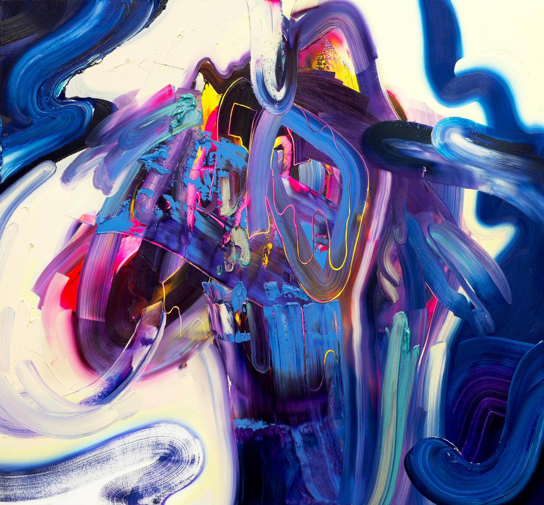 @ErinLoree  /  Tavern Madness  / 2016 / oil on canvas / 60 x 65 inches / 152 x 167 cm / Private Collection / ©ErinLoree