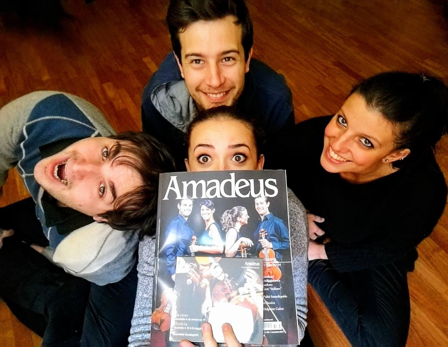 QG with Amadeus Magazine