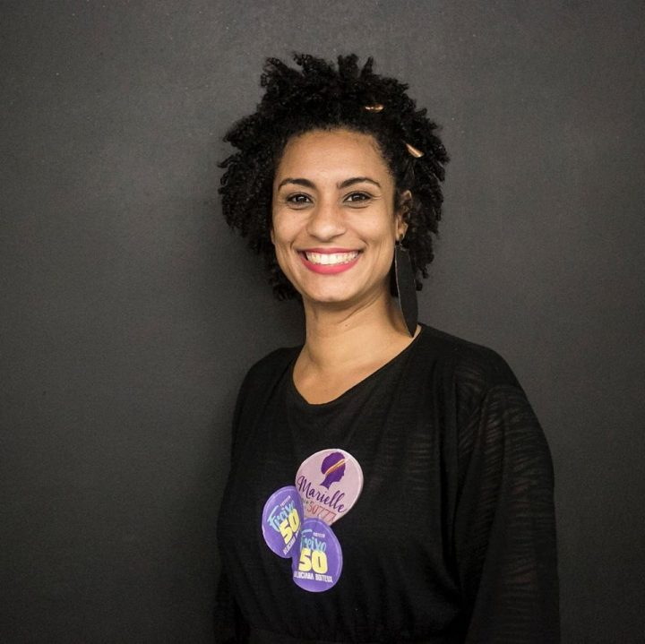 Marielle Franco Da Silva 1979-2018. Imagen de Mídia Ninja