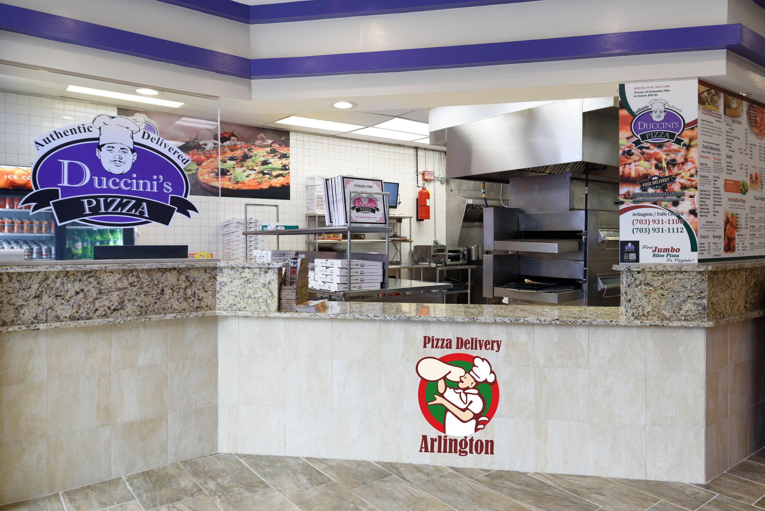 Pizza Delivery Near Arlington Va
