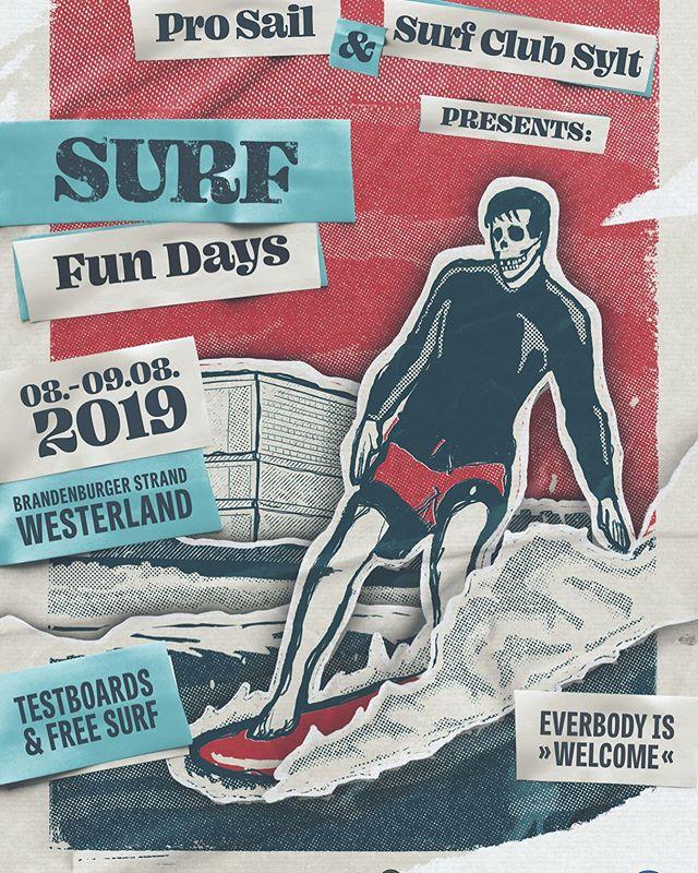 @sand_bank_sylt präsentiert während der Sylt Sailing Week von @prosail_events wieder die Surf Fun Days! Jede(r) ist herzlich willkommen, darf gern testen und surfen. 🌊 R u in? ~~~~~~~~~~~~~~~~~~~~~~~~~~~~~~ #sylt #surffundays #inselliebe #prosailevents #onelove #surfclubsylt #sandbanksylt #nordsee #surf