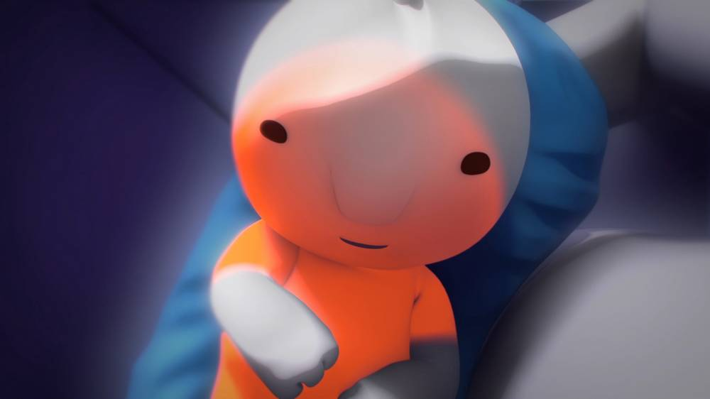 Beakus - Still from animated short - A Little Grey