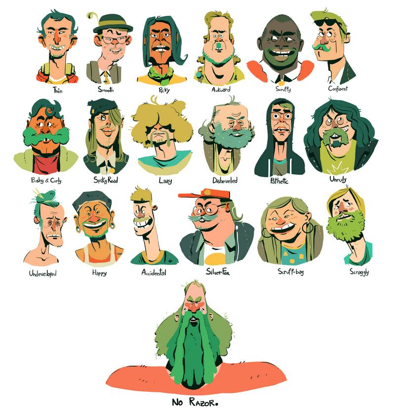 Beakus - Character Design for Tuft Commercial