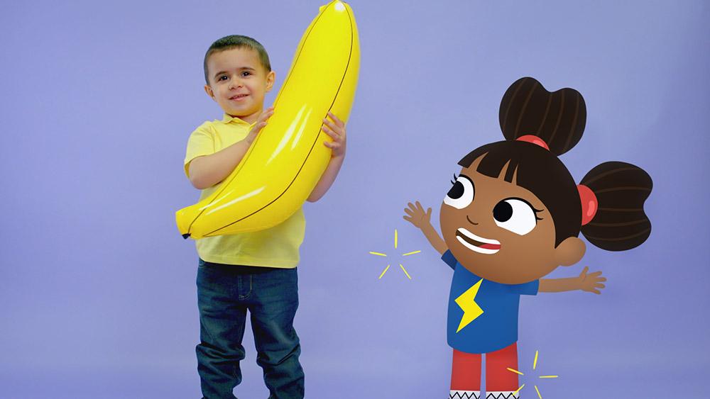 Beakus - Still from Yakka Dee pre-school series for CBeebies