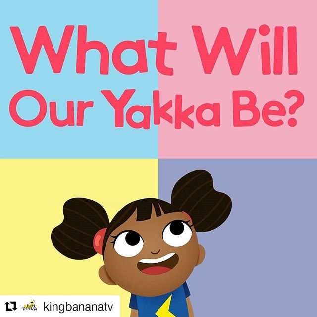 #Repost @kingbananatv (@get_repost) ・・・ New Series of Yakka Dee starts on @cbeebieshq today! Catch it at 9.05 and 13.15! King Banana collab with @Beakus !