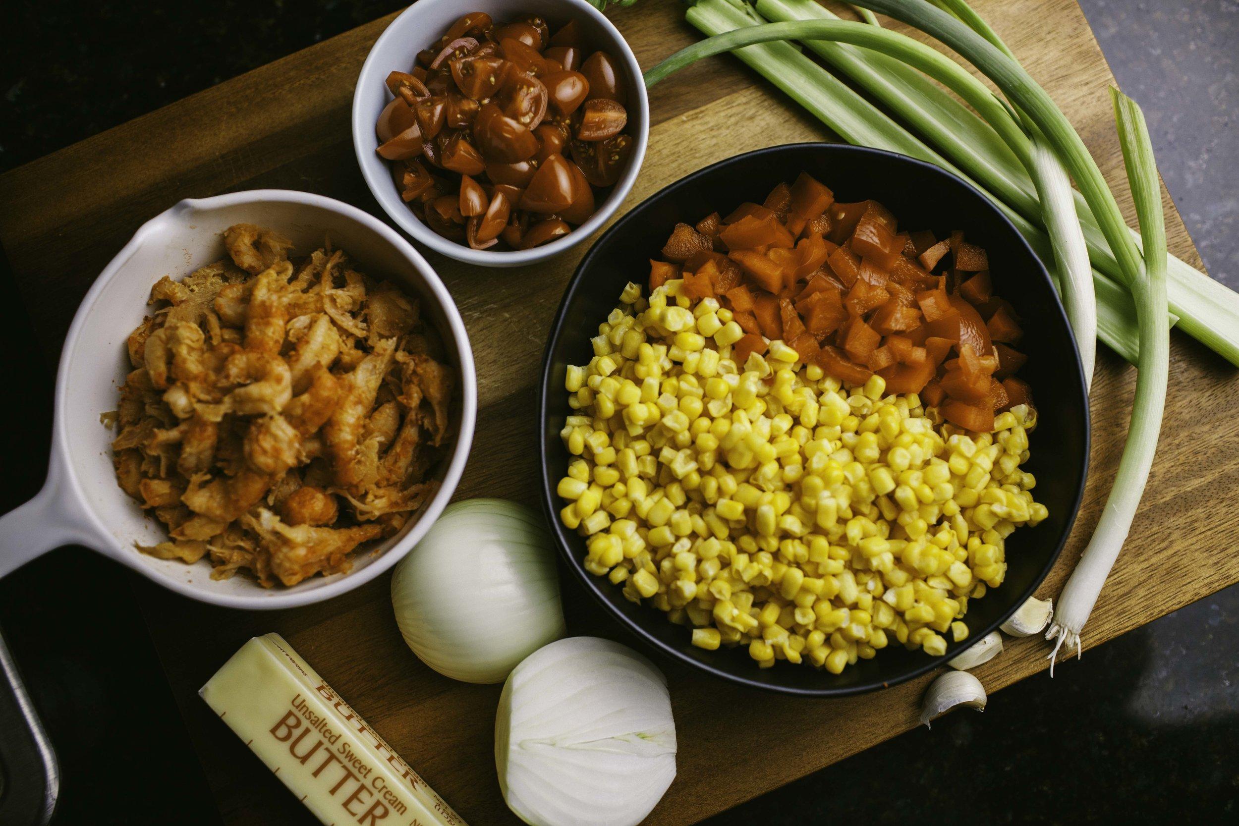 Corn & Crawfish Stew