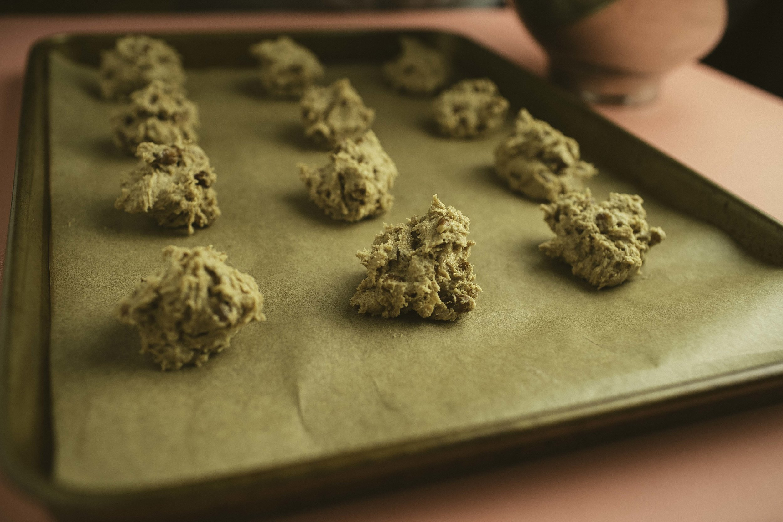 Cinnamon Pecan Cookies