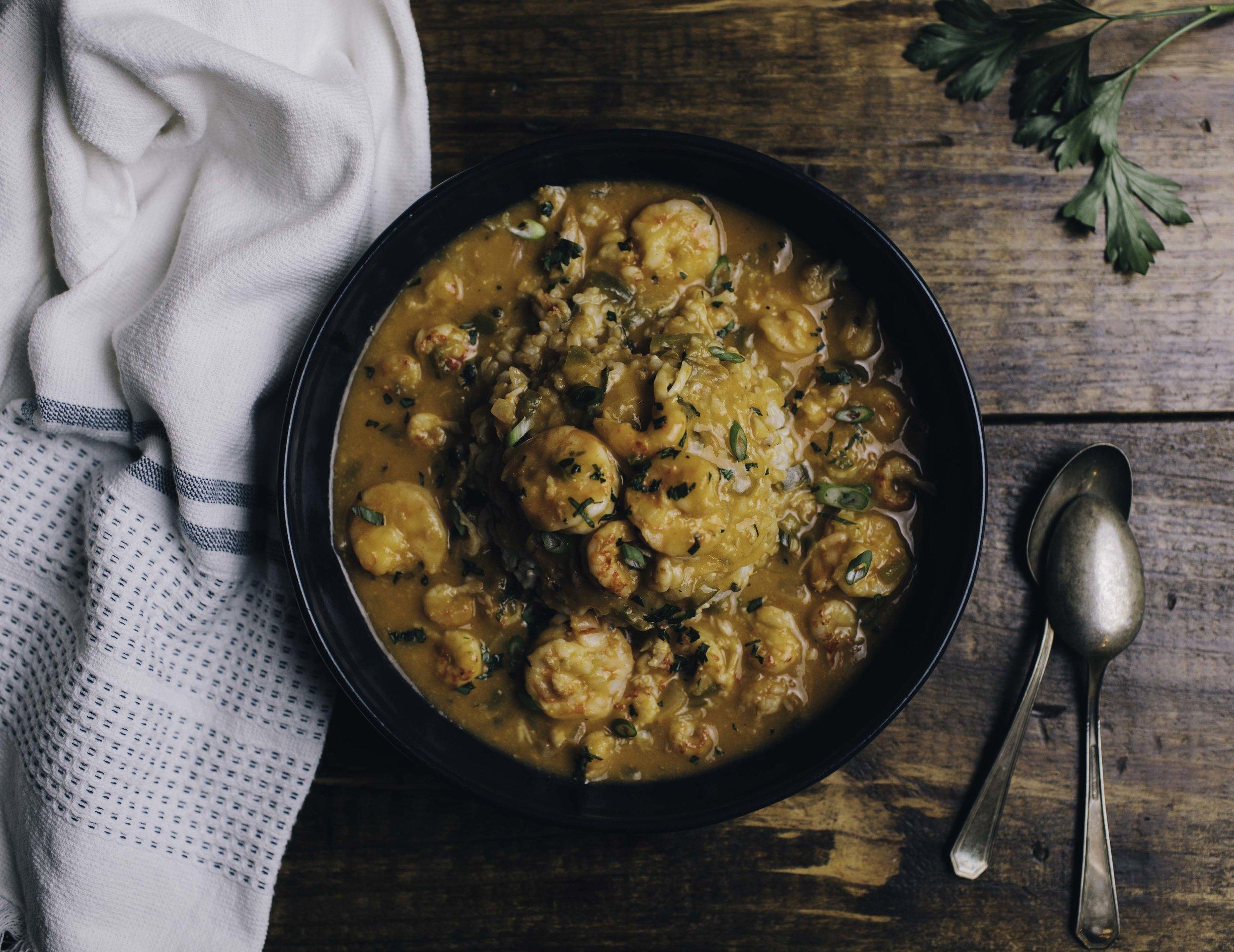 Shrimp & Crawfish Etouffee