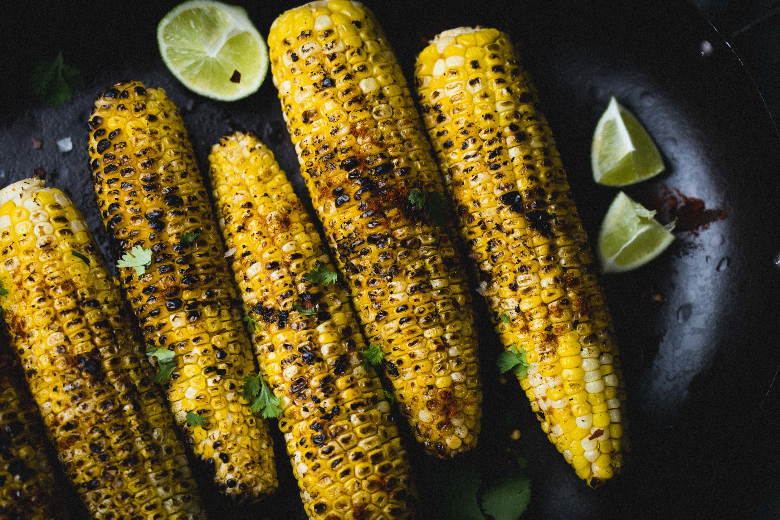 Grilled Summer Corn