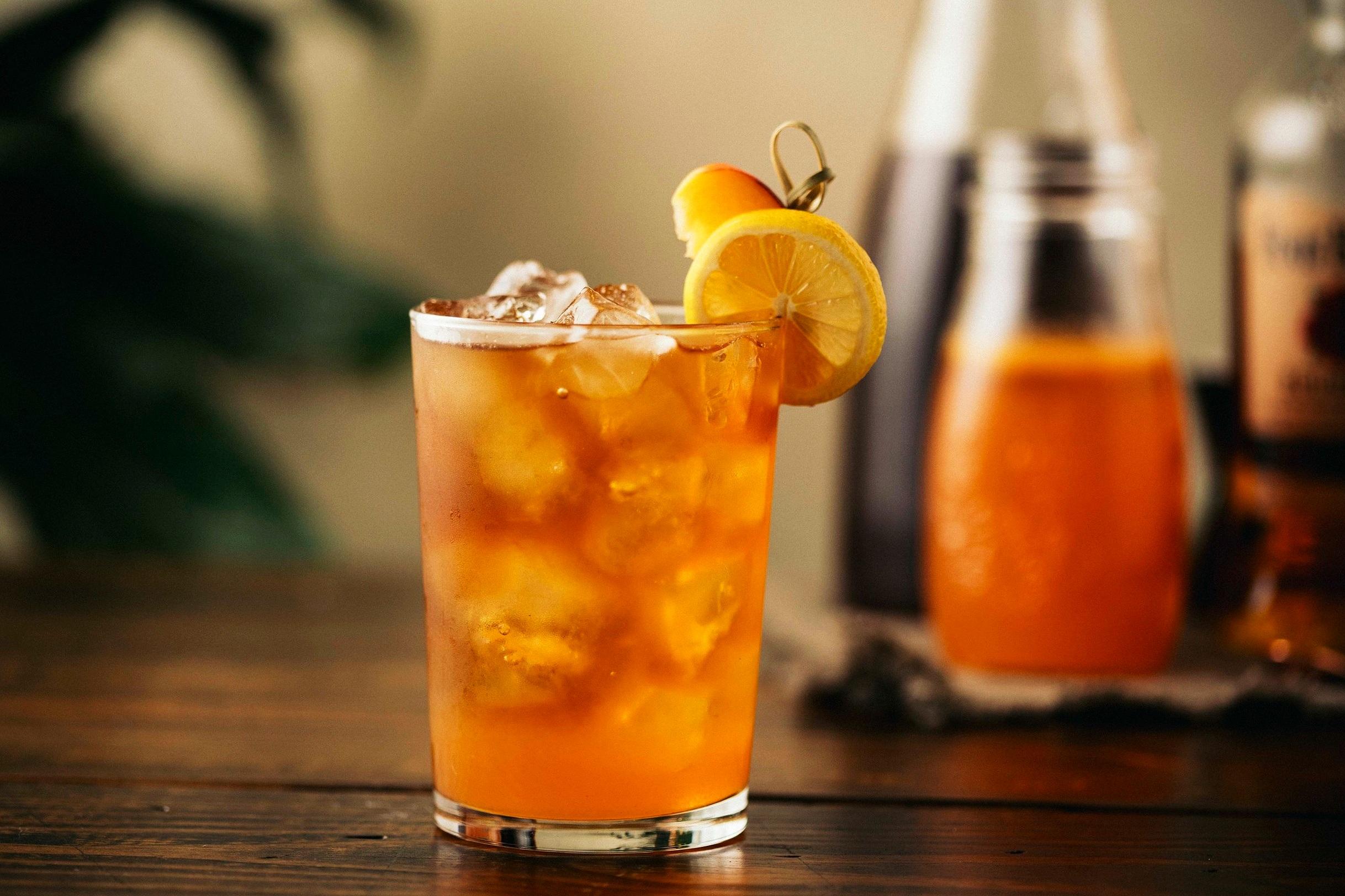 Whiskey Peach Tea