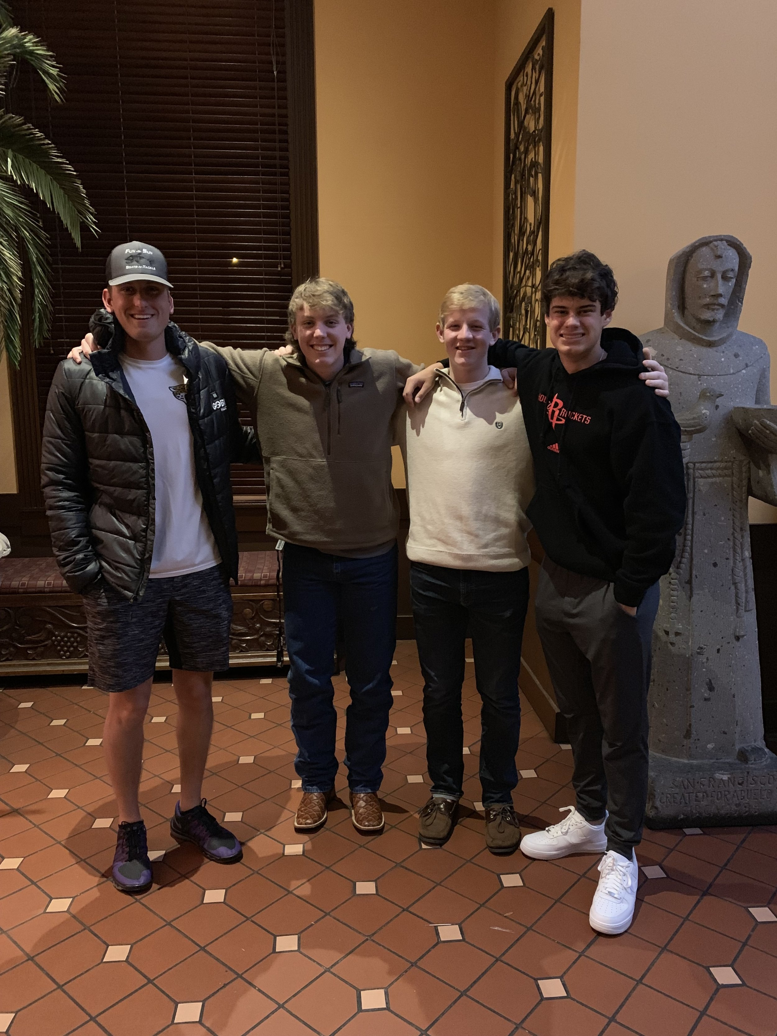 2019 Signees - Griffin Kell - TCUMatt Stanton - UCOJosh Plaster - Arizona State