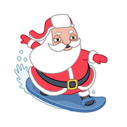 ski-santa-claus-icon-87639.png