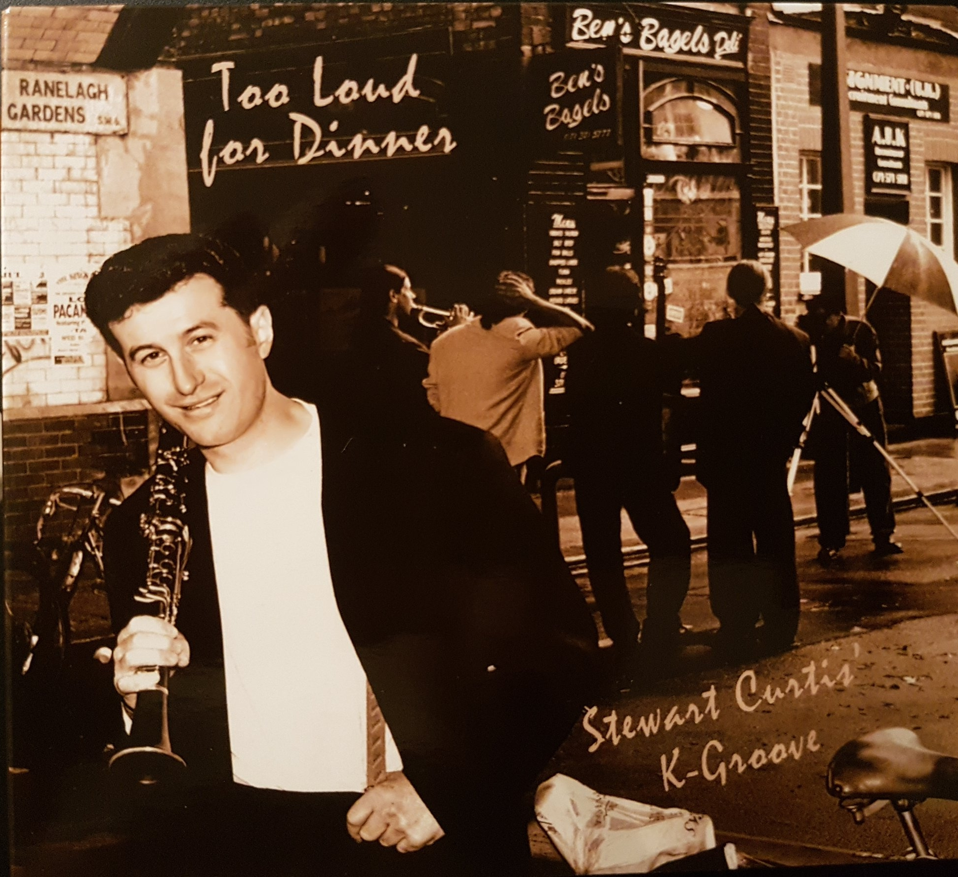 """Too Loud For Dinner"" (1995) Re-released 33 Records 2014"