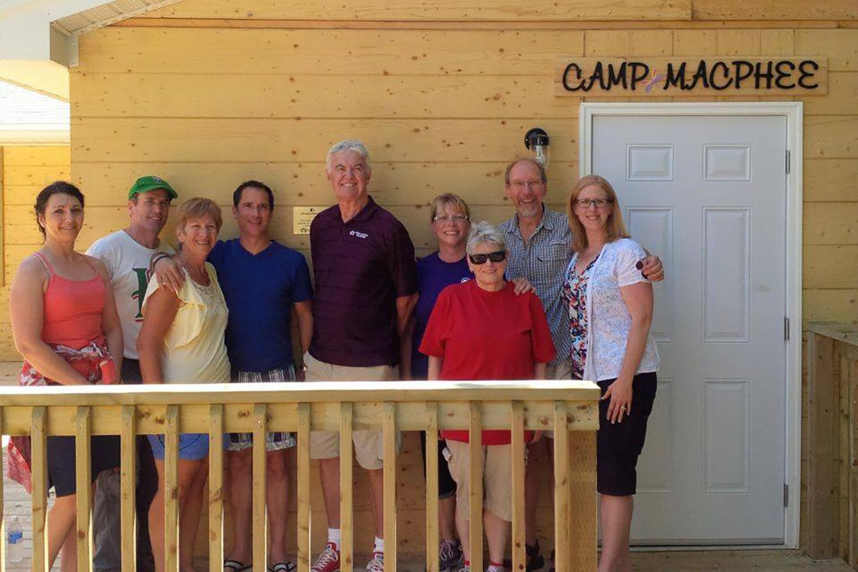 """""""MacPhee Cabin"""", Camp Kidston, Long Lake"""