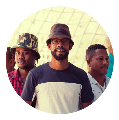 ELKIN ROBINSON  /    Caribbean Creole
