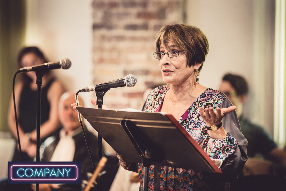 Two Time Grammy & Tony Award winner,   Patti LuPone   during sitzprobe rehearsals.