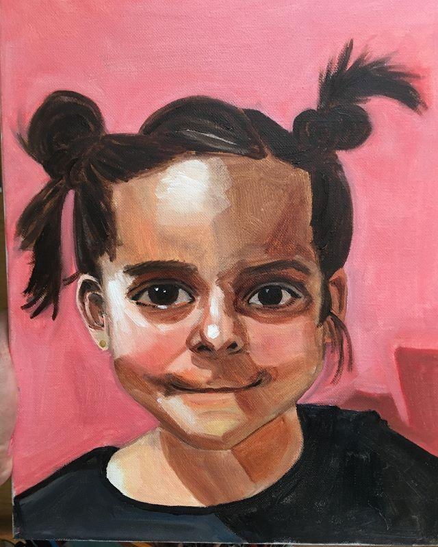 My first finished portrait. My little niece ❤️🎨 #unicornporn #contemporaryart #artistic #artist #artdistrict #acrylicpainting #paint #painter #painting #artgallery#loveart #imagination #inspirational #inspire #contemporaryart #eyes #sanfrancisco #eddadavilaart #oaklandartist #acrylic #oaklandfirstfridays #sanfranciscoart #sanfranciscoartist #artsanfrancisco #oaklandart #abstractart #abstractpaintings #abstractart