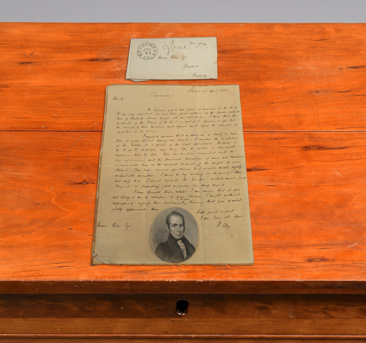 Henry Clay Letter