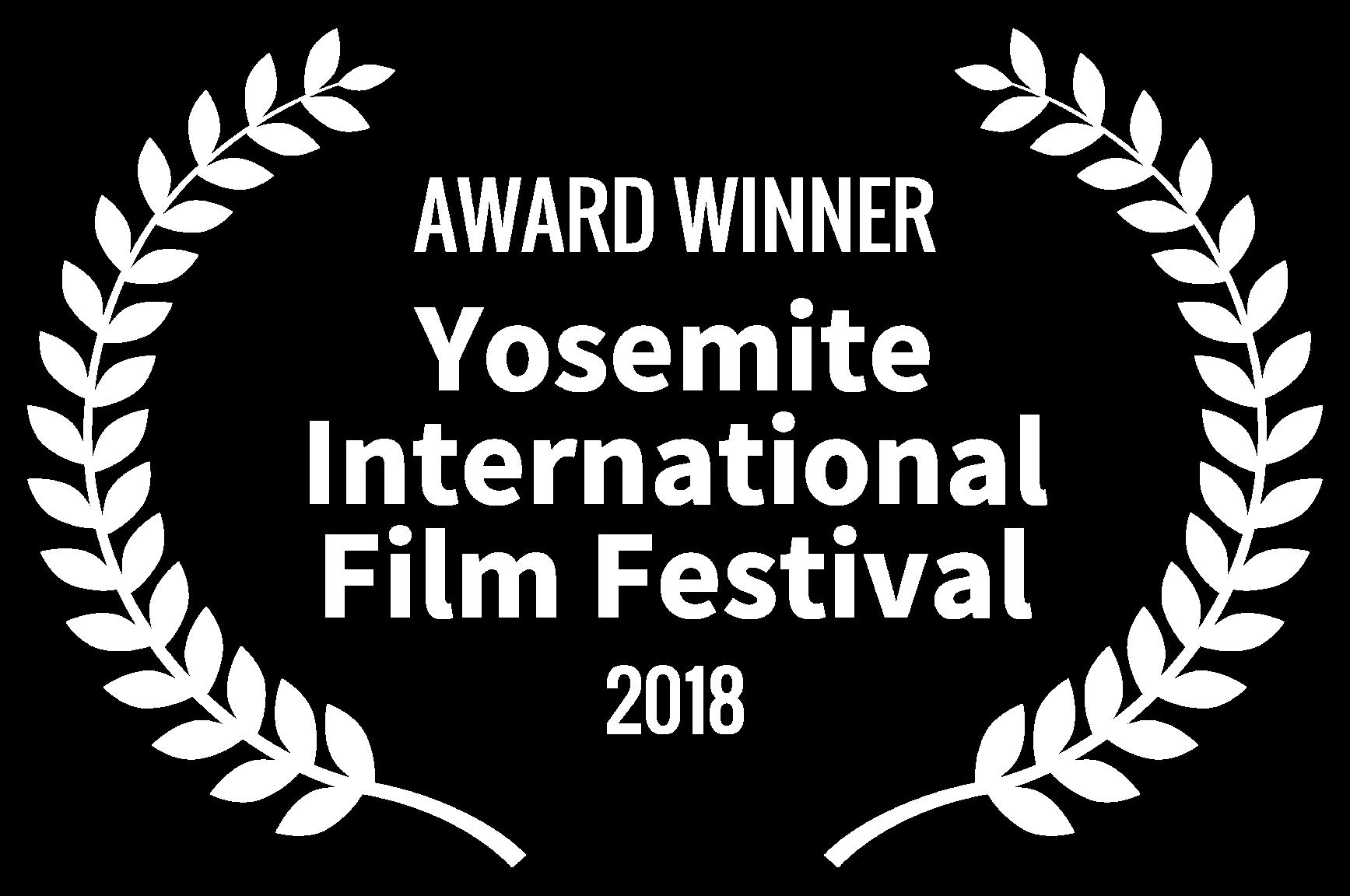 AWARD WINNER - Yosemite International Film Festival - 2018.png