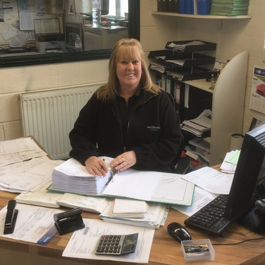 Angela   Angela joined over 22 years ago.  Angela forms the nucleus of MISTERmatic and manages customer services, accounts and administration.  To many of our customers Angela is known affectionately as 'Msmatic'