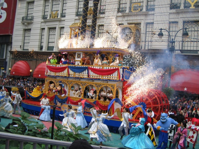 Macy's Parade Floats and Balloons -