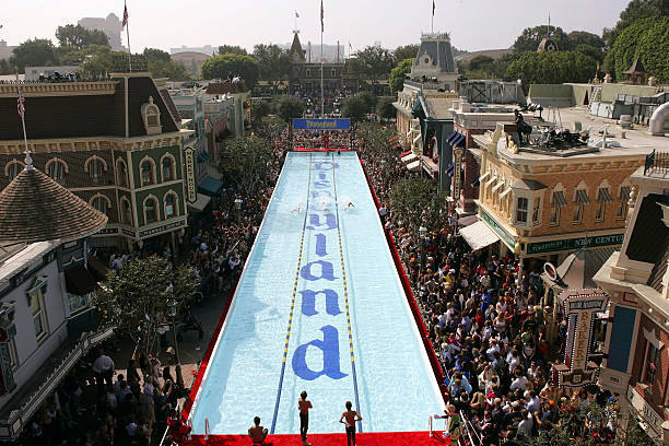 Created and built giant pool on Main Street USA at Disneyland for Olympic Gold Medalist Michael Phelps -