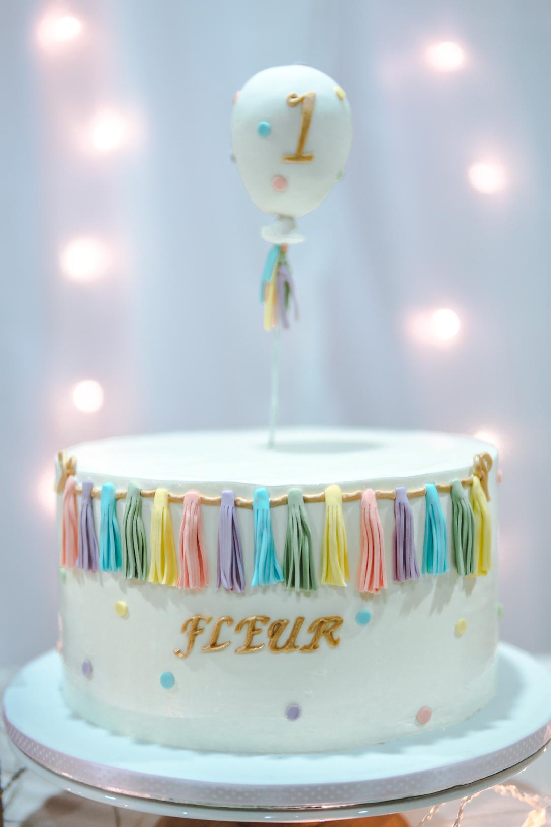 BIRTHDAY - Fleur's 1st
