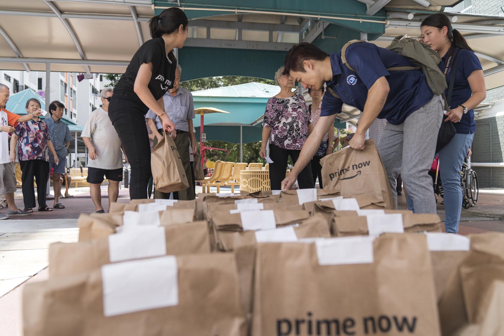 AmazonPrime Now - Lion Befrienders Delivery