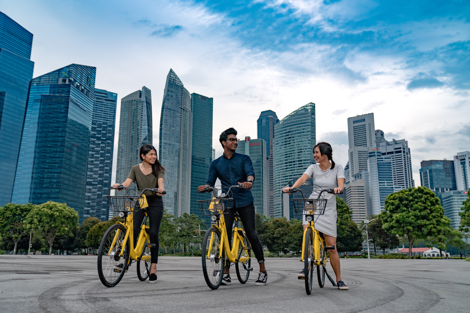 ofo Singapore - Commercial Outdoor Shoot
