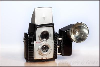 My first camera in 1966 - Kodak Brownie '64 model.