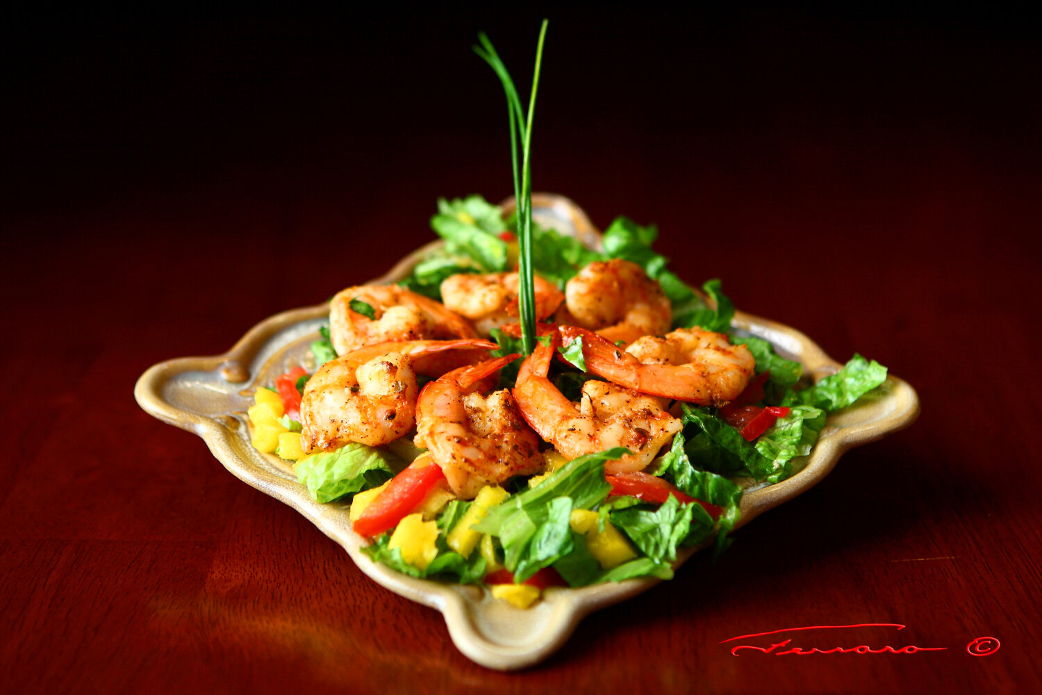 Shrimp Mango Salad