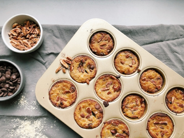 Pumpkin muffins, holiday treats, healthy cooking