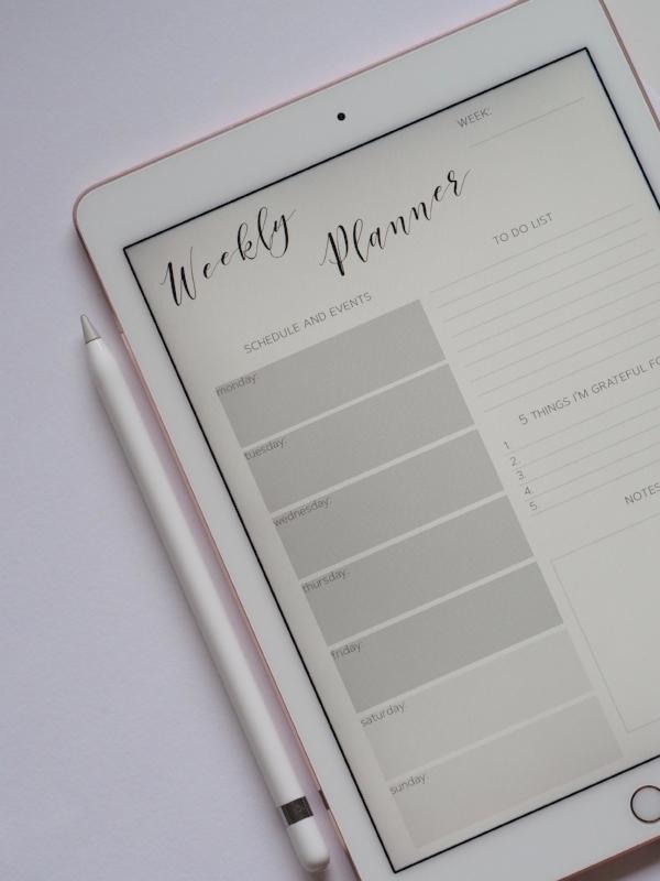 Planner, Cultivate What Matters, Rachel Hollis, Nutritionist, Entrepreneur, Pen, iPad