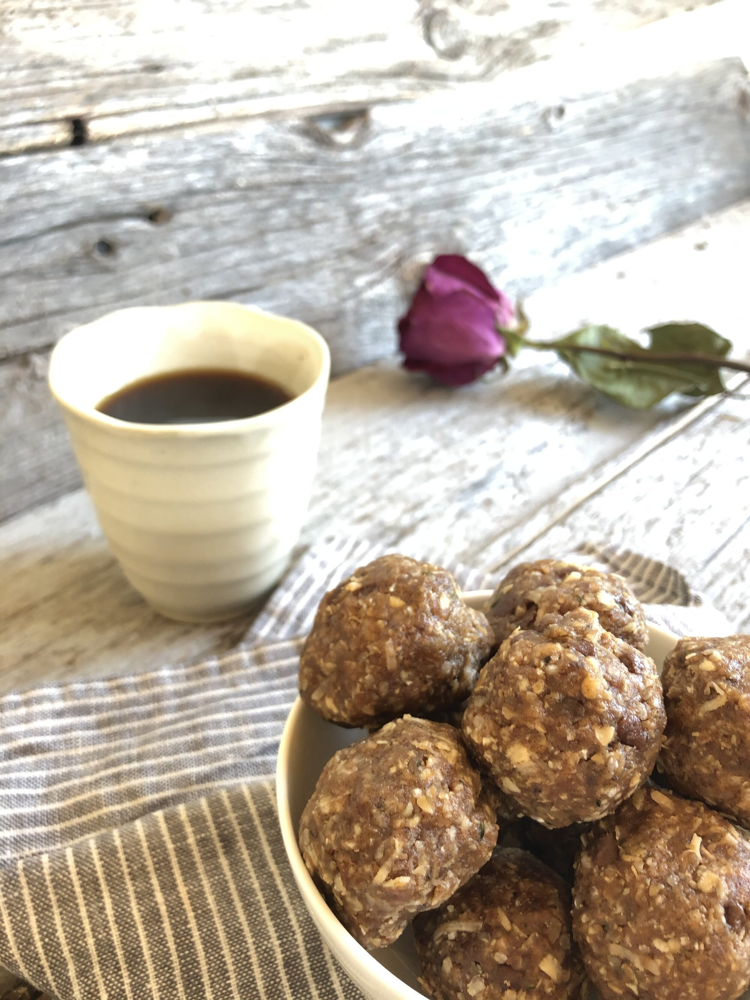 DIRECTIONS: eat one at a time - these energy balls are high in calories!  Something we all need when it comes to growing children, busy schedules, and adventures of all sorts.