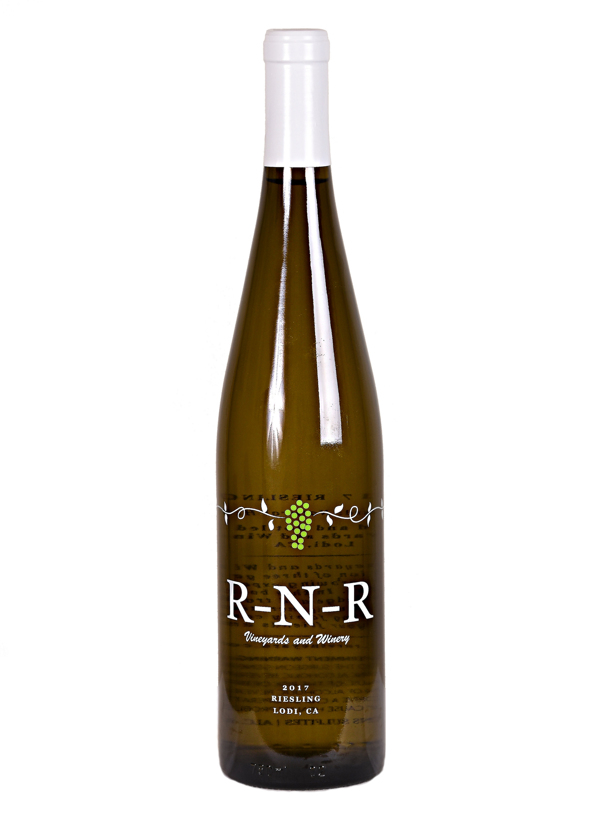 2017 Riesling  Vineyard: Natural Hills