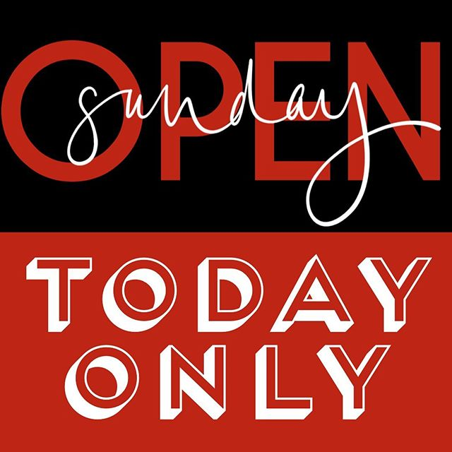 Open at 1230! June 09, 2019 #todayonly. #shopsmall #downtownmacon #fathersday