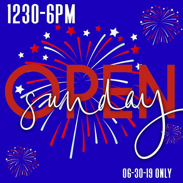 Open this Sunday 1230-6PM! Look out for info on our #sale! You won't wanna miss it!!! Visit Kaybee in #downtownmacon to get right!!!