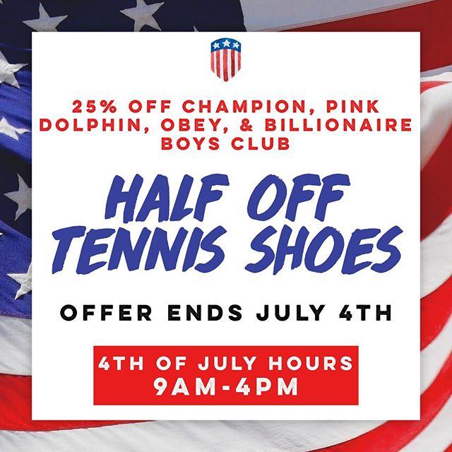 #4thOfJuly #IndependenceDay #Sale #PinkDolphin #Champion #Obey #BillionaireBoysClub #BBC #Nike #Adidas #Puma #DowntownMacon #ShopSmall