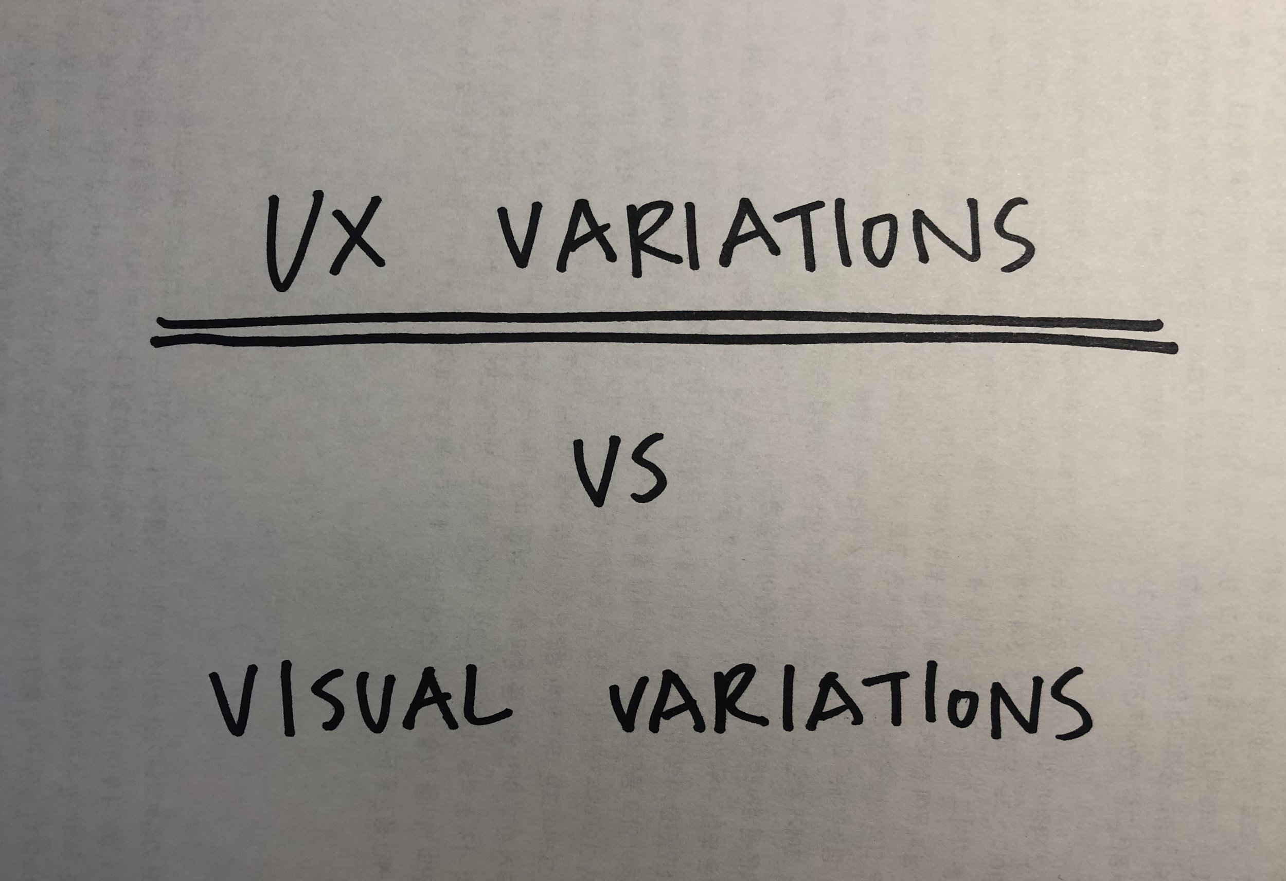 User Experience vs User Interface - Wednesday, April 24, 2019• UX variations should include the variations of experiences. Think 360º experiences from diverse perspectives.