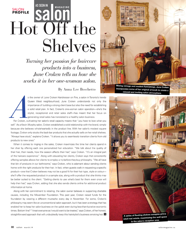 http://salonmagazine.ca/en/5-features/features/1714-june-croken-hairdresser-on-fire-a-one-woman-business