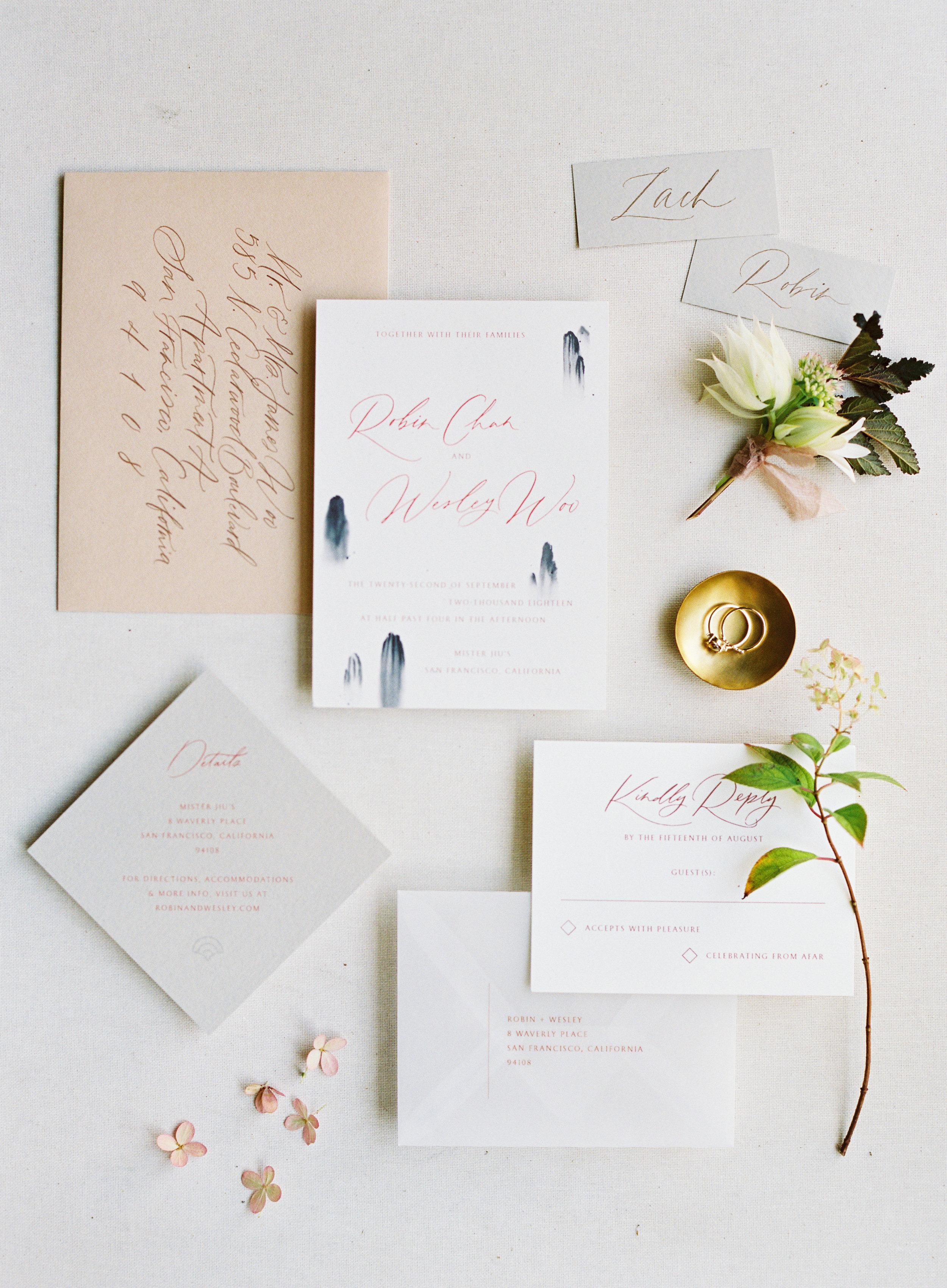 Jordan & Natalie - Lambert FloralMister Jiu'sSkyla ArtsOwl Post CalligraphyNatalie Choi Events
