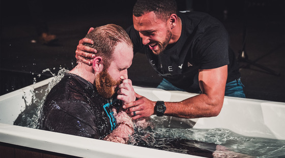 Baptism - Baptism is an outward expression of an inward relationship with Jesus. We offer baptism at every campus during the first 11:15 AM service of the month. This is part of Connect Track, step 1, so candidates must complete step 1 of Connect Track before being baptized.