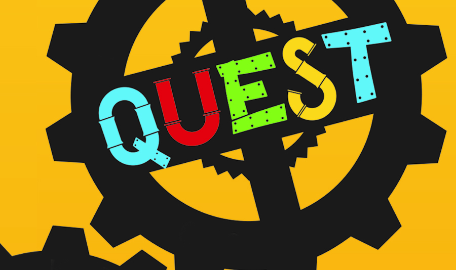 Quest - Quest is our mid-week service for Kindergartners - 5th graders. They meet on Wednesdays during the school year, from 6:30 PM to 8:00 PM at all campuses.They receive Biblical teaching that is reinforced with games, fun activities, and age and gender specific small group discussions.